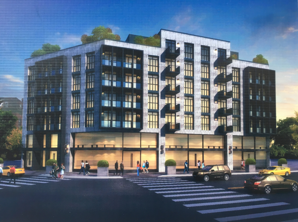The Old KFC Lot on Myrtle Avenue Will Transform into a 7-Story Mixed-Use Building — Real Estate on Bushwick Daily