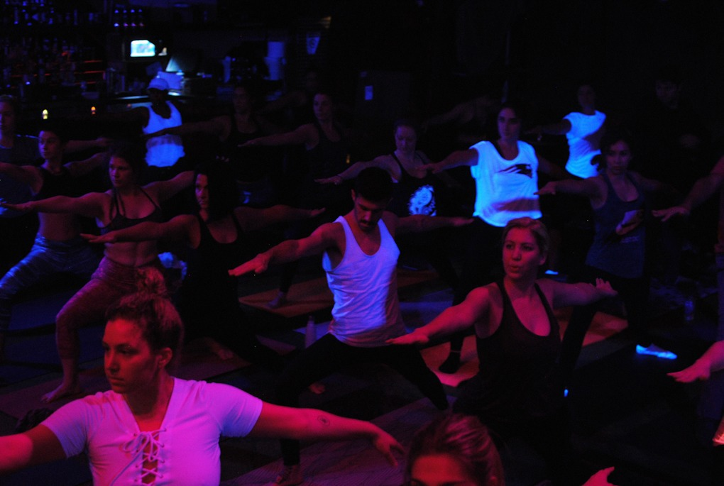 We Tried the Ultra-Popular Deep House Yoga at House of Yes — Mind and Body on Bushwick Daily