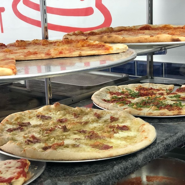 'Sauced Pizza' has replaced Norbert's on Flushing Ave — Food and Drink on Bushwick Daily
