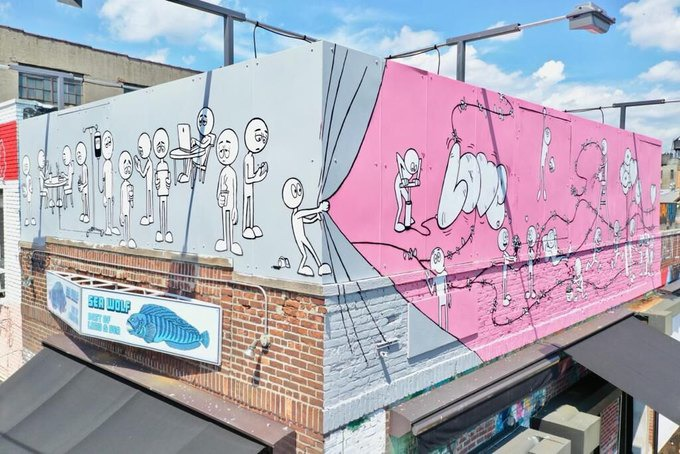 A New Mural in Bushwick is Here to Remind You of Your Passions — Arts & Culture on Bushwick Daily