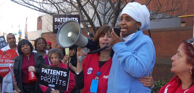 Bushwick Nurses Join Citywide Protest After Report Showed Severe Staffing Shortage in NYC Hospitals — News on Bushwick Daily