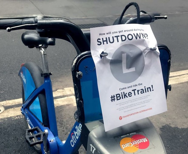 Worried About the L Shutdown? Then Hop on the Bike Train  — Community on Bushwick Daily