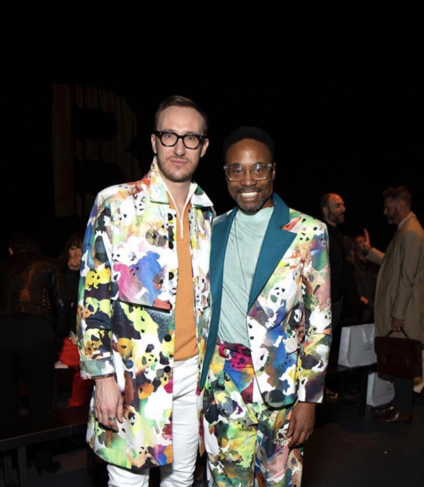 Billy Porter Wears Accessories from Local Woman-Owned Sustainable Jewelry Company, Reigning Grey — Business on Bushwick Daily