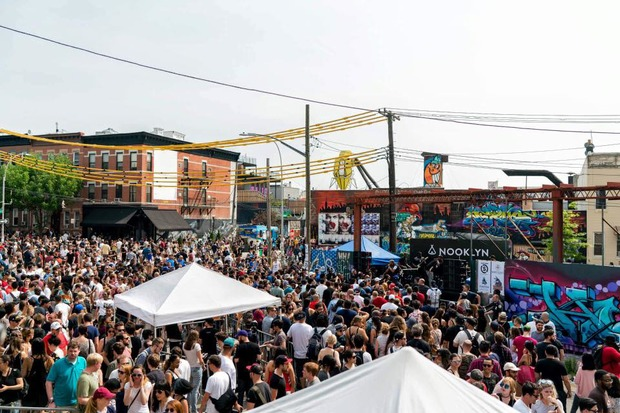 Bushwick Collective is officially back for its 7th annual Block Party this Saturday — Arts & Culture on Bushwick Daily