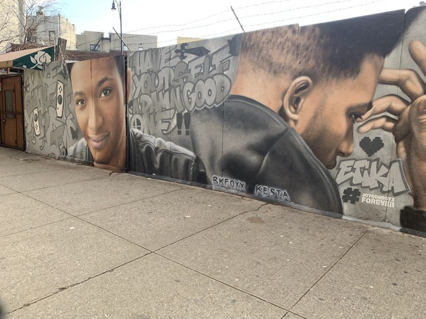 "Mural Celebrating the Life of YouTuber ""Etika"" Unveiled in Bushwick — Community on Bushwick Daily"