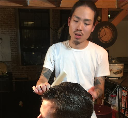 This Japanese Hair Stylist Gives Extraordinary Haircuts in his Bushwick Loft for a Mere $20  — Fashion and Shopping on Bushwick Daily