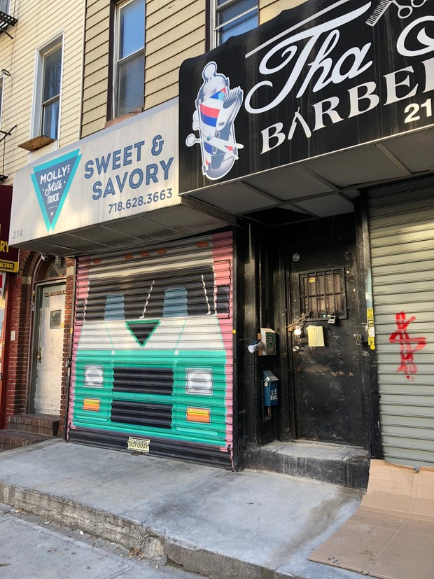 Molly's Milk Truck Forced to Emergency Close Temporarily Because of Unsafe Building Conditions  — Food and Drink on Bushwick Daily