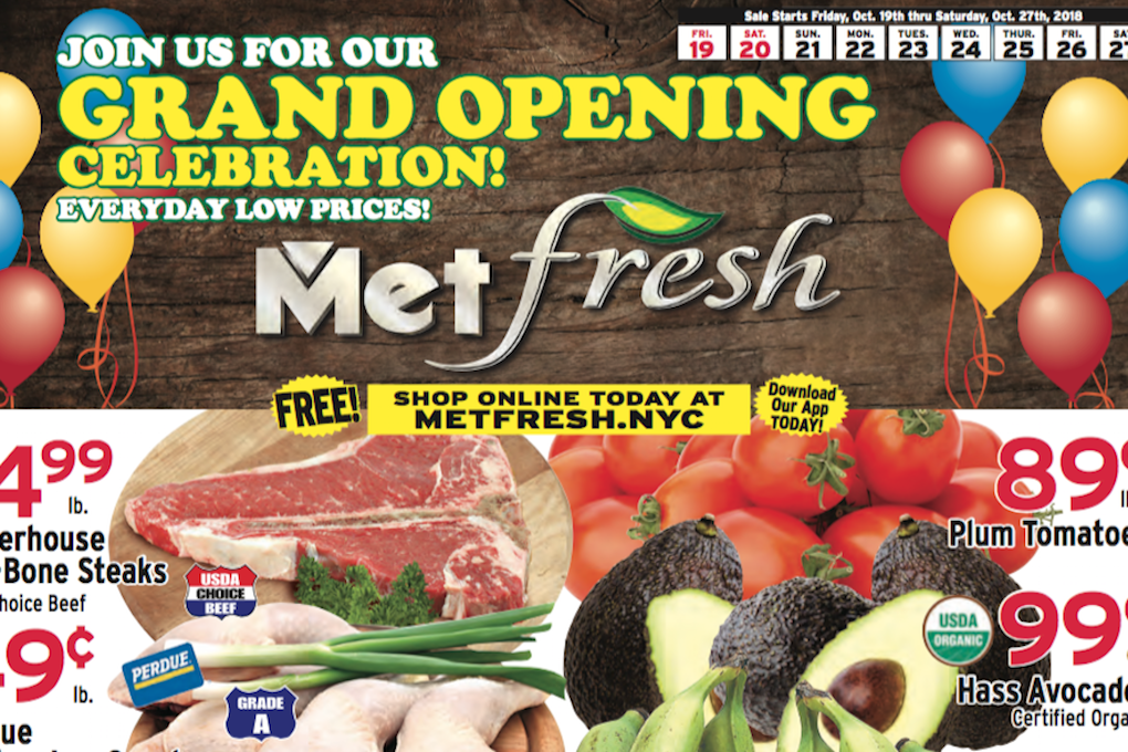 New Met Fresh Supermarket Is Opening This Week Near The Knickerbocker Avenue M Stop — Food and Drink on Bushwick Daily