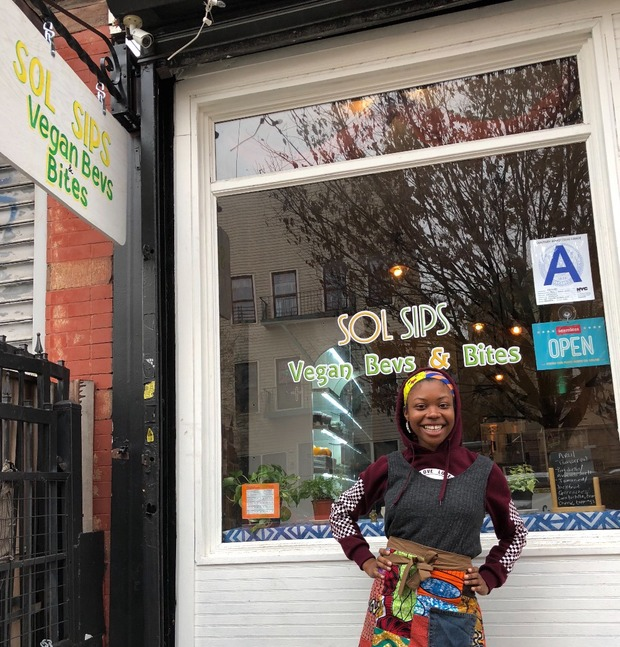 Sol Sips, Once a Vegan Pop-Up, Becomes a Permanent Restaurant in Bushwick Tomorrow — Food and Drink on Bushwick Daily