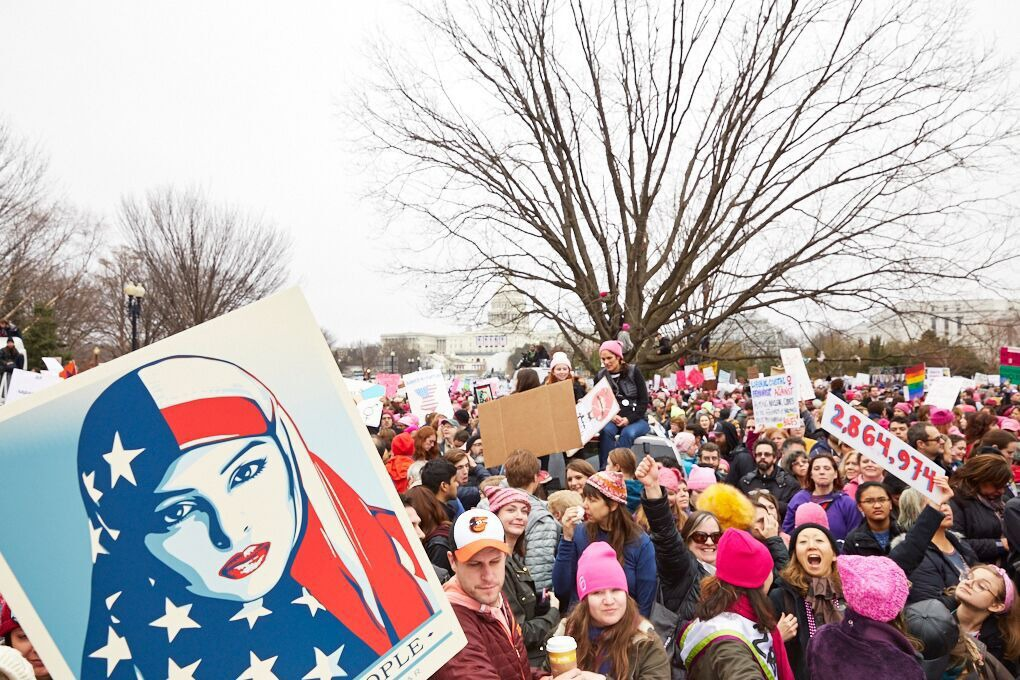 Why We Marched: a Photo-Essay of Feminists in D.C., From Bushwick and Beyond — Community on Bushwick Daily