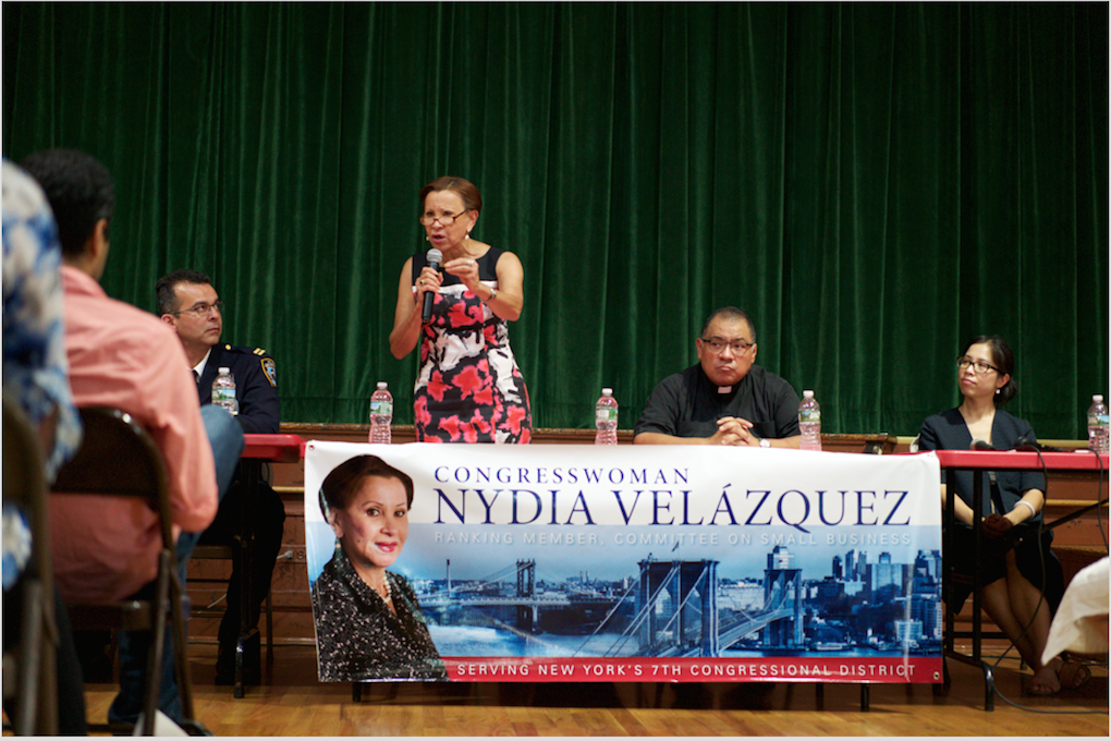 Representative Velázquez Fights to Remove 'Police' Label from I.C.E. Uniforms — Community on Bushwick Daily