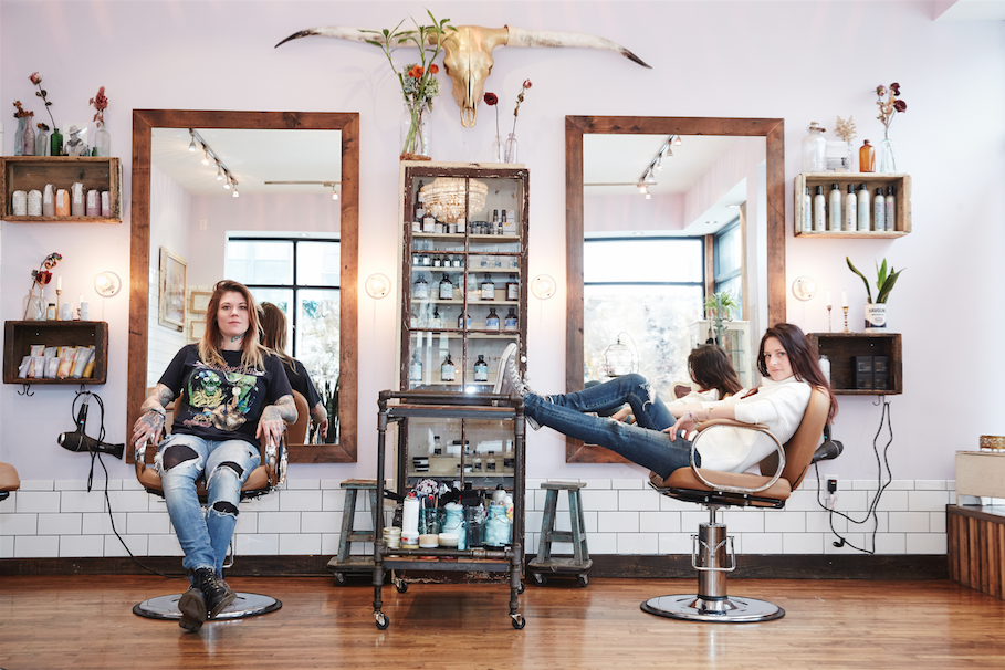 Bushwick's Hair Salon Pickthorn Will Tour 8 Cities Giving Makeovers to Musicians — Music and Nightlife on Bushwick Daily
