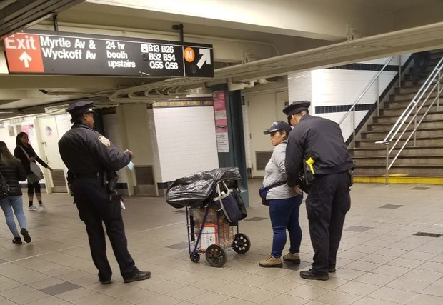 A Second Churro Vendor is in Handcuffs as NYPD Crackdown Continues — News on Bushwick Daily
