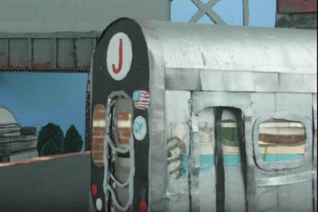 This Quirky Claymation Music Video Stars Bushwick's Myrtle-Broadway JMZ Station — Arts & Culture on Bushwick Daily