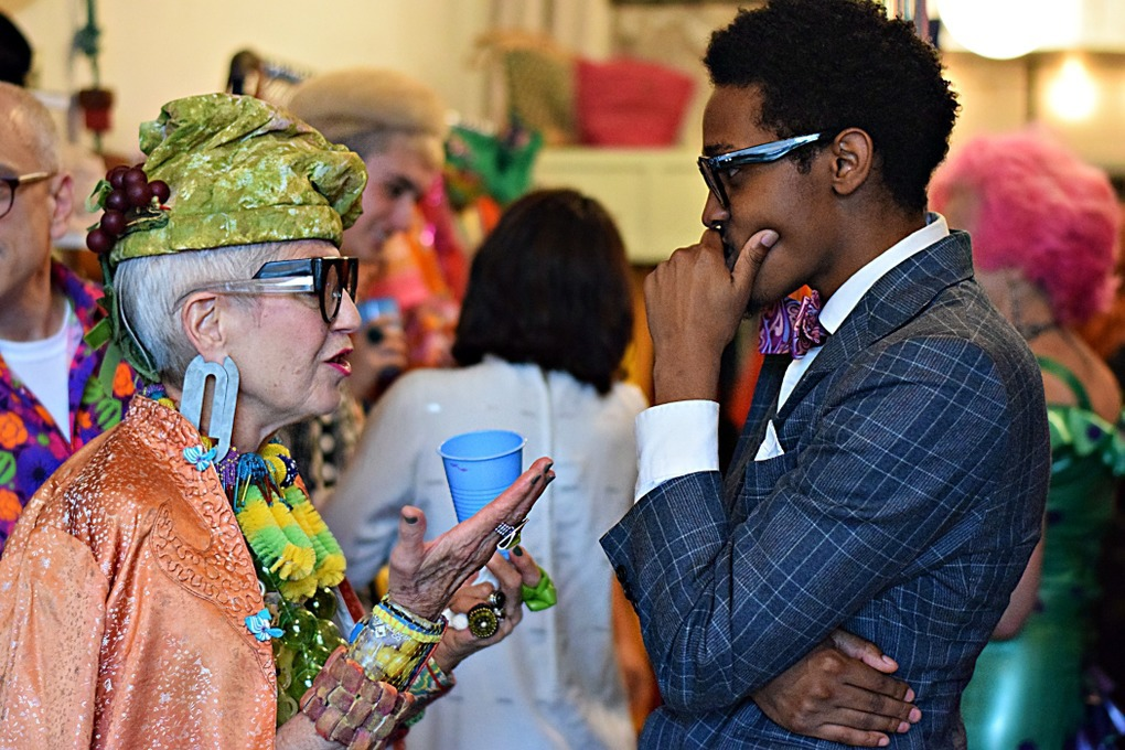 A Japanese TV Station Hit This Bushwick Fashion Party Where Generations of Fashionistas Mingled — Arts & Culture on Bushwick Daily