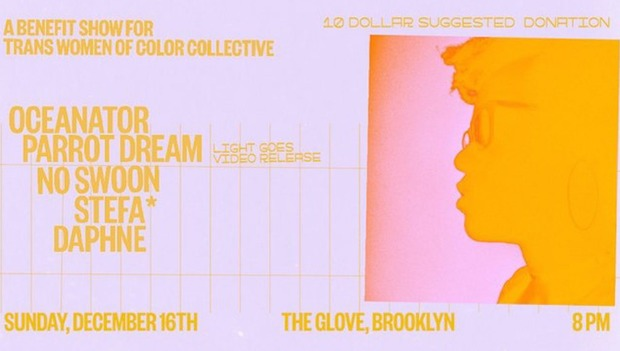 Interview: Parrot Dream Hosting Benefit For Trans Women Of Color Collective On Sunday At The Glove — Bushwick Bandstand on Bushwick Daily