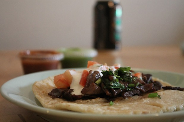 Taco Tour: the Cecina Taco at Mally's is a Delight for all Tastebuds — Restaurants on Bushwick Daily