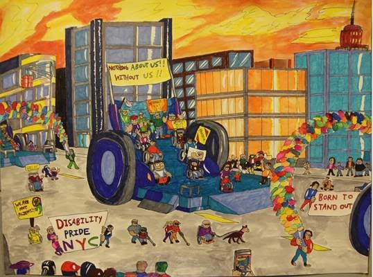 Bushwick's Community Education Council Empowers Children With Disabilities Through Art Contest — News on Bushwick Daily