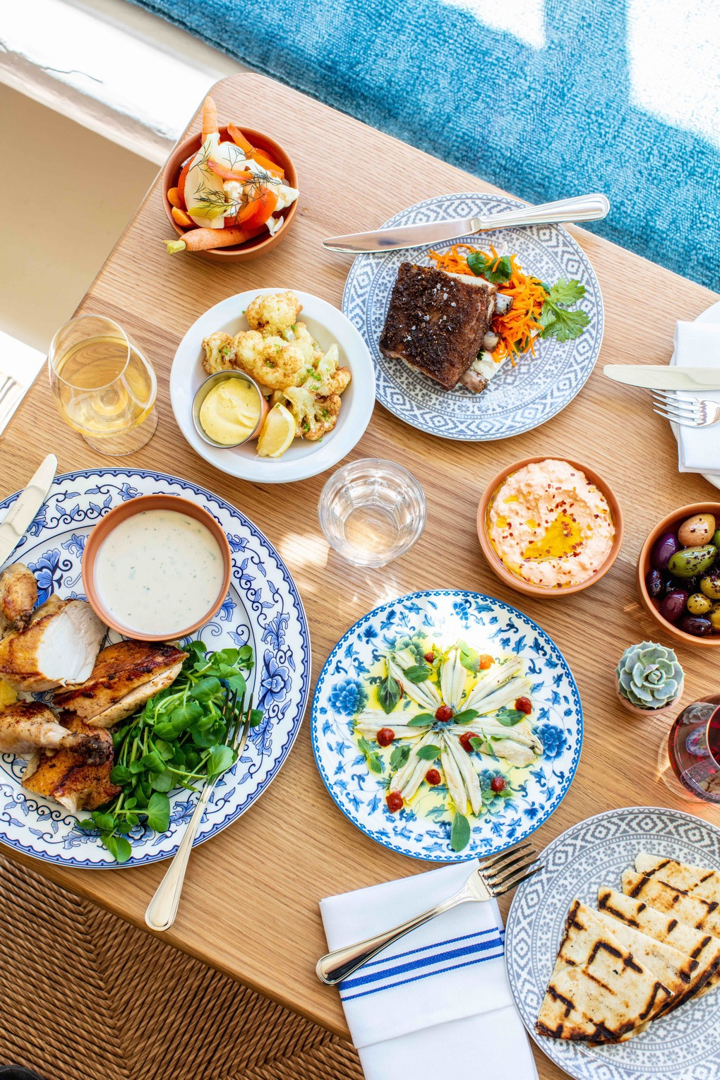 New Greek Inspired Restaurant in East Williamsburg Feels Like the Perfect Summer Vacation — Food and Drink on Bushwick Daily