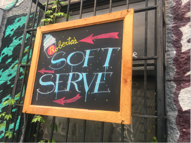 Roberta's Has Soft Serve...And It's Safe to Skip — Food and Drink on Bushwick Daily