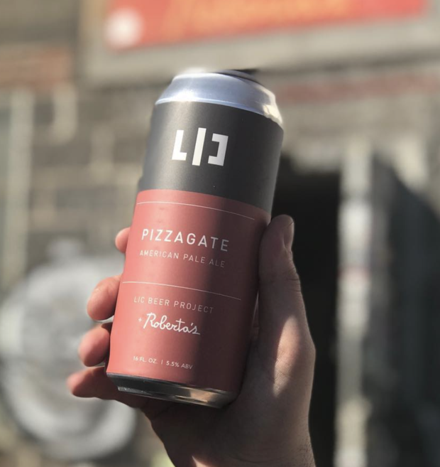 Take That, Conspiracy Theorists: a New Pizzagate Beer Debuts at Roberta's on Friday    — Food and Drink on Bushwick Daily