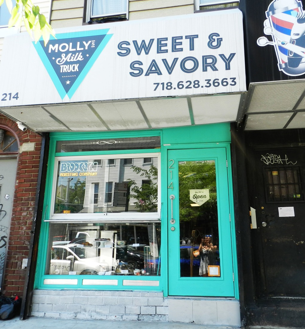 Review: Molly's Milk Truck Was Worth the Wait — Food and Drink on Bushwick Daily