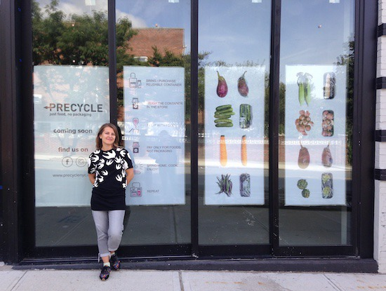 New Zero-Waste Food Store Precycle Aims To Educate & Build Community — Food and Drink on Bushwick Daily