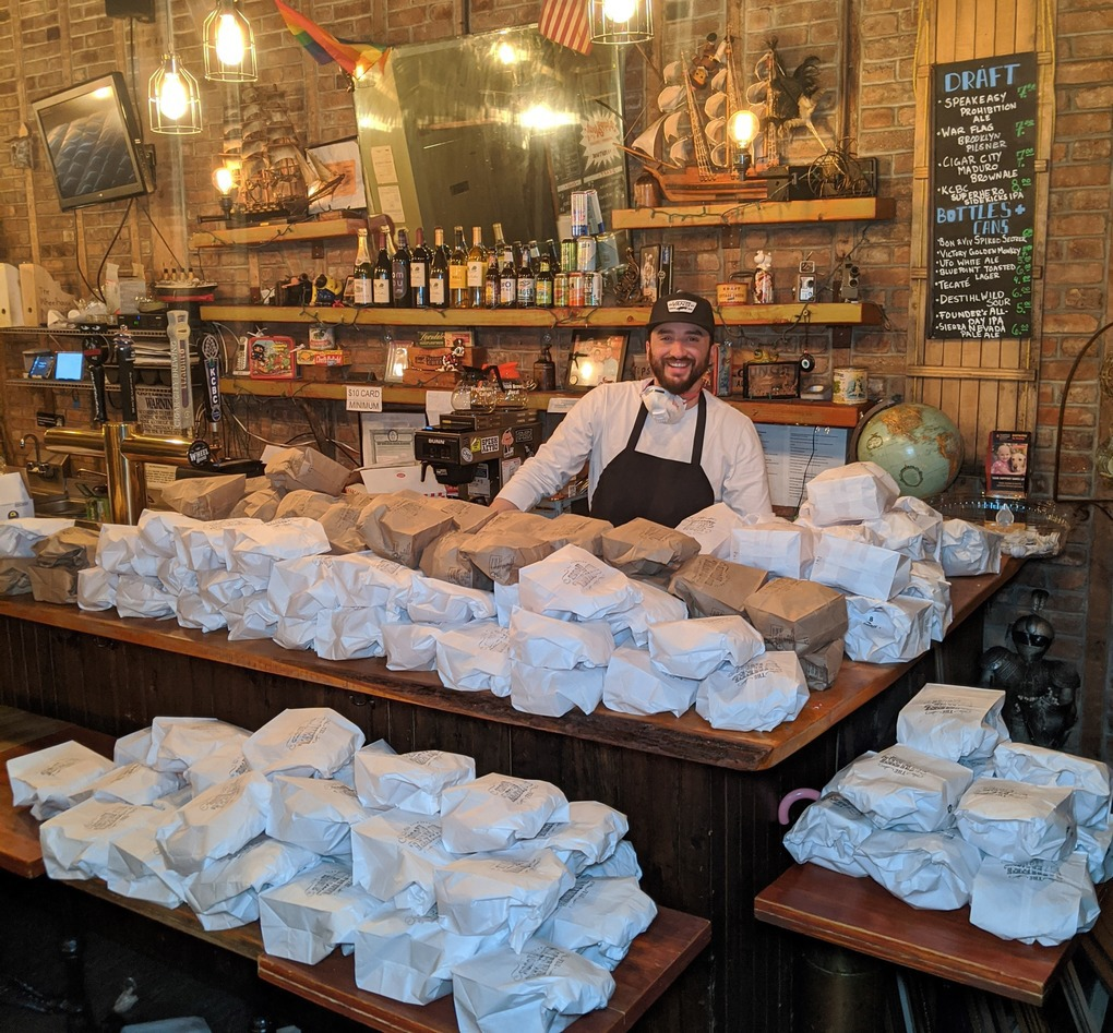 Daniel Teran of The Wheelhouse is Set to Send Hundreds of Weekly Meals to Brooklyn Hospitals — News on Bushwick Daily