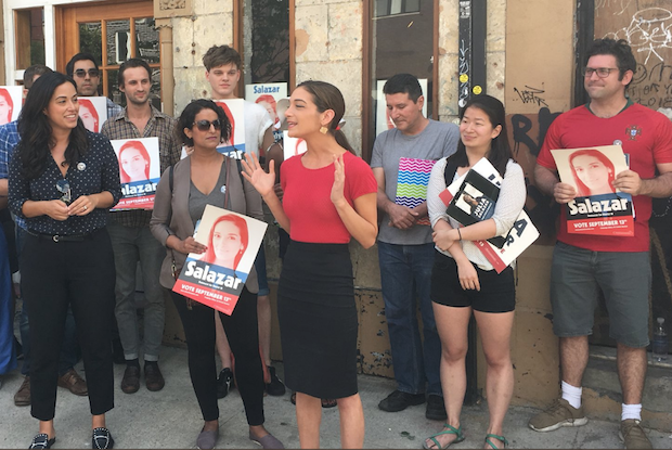 Julia Salazar Won The New York State  Democratic Primary Against Longtime Politician Martin Dilan — News on Bushwick Daily