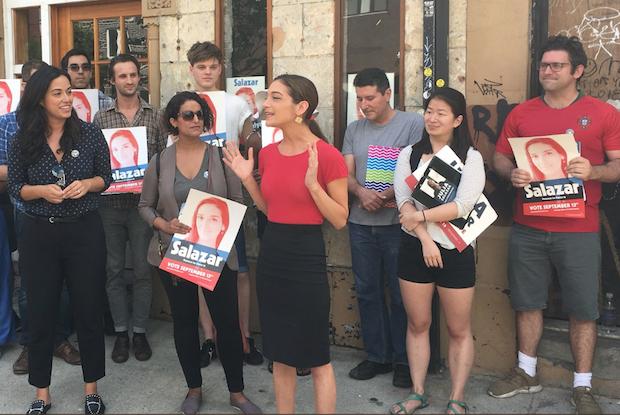 Julia Salazar Won The New York State  Democratic Primary Against Longtime Politician Martin Dilan — News on Bushwick Daily
