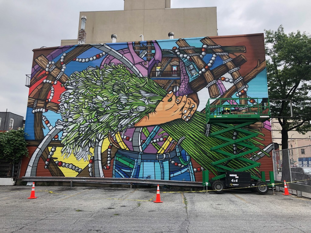 New Williamsburg Mural Celebrates the Puerto Rican Community  — News on Bushwick Daily