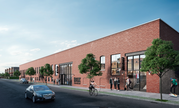 """This Huge New Office Space Wants Creative Types to Come Work From """"Ridgewick"""" Off Halsey L — Real Estate on Bushwick Daily"""