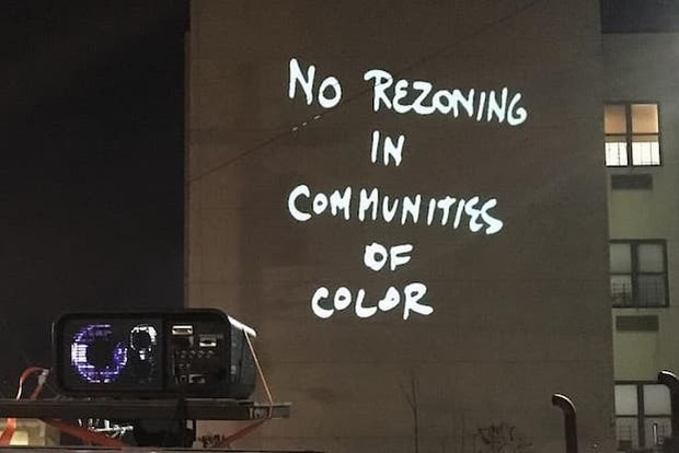 A Look At The Bushwick Protest Against Displacement This Past Friday — News on Bushwick Daily