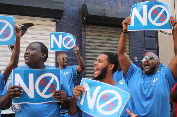 No K2! Bushwick Community and Business Owners Join the Doe Fund March Against the Drug  — Community on Bushwick Daily