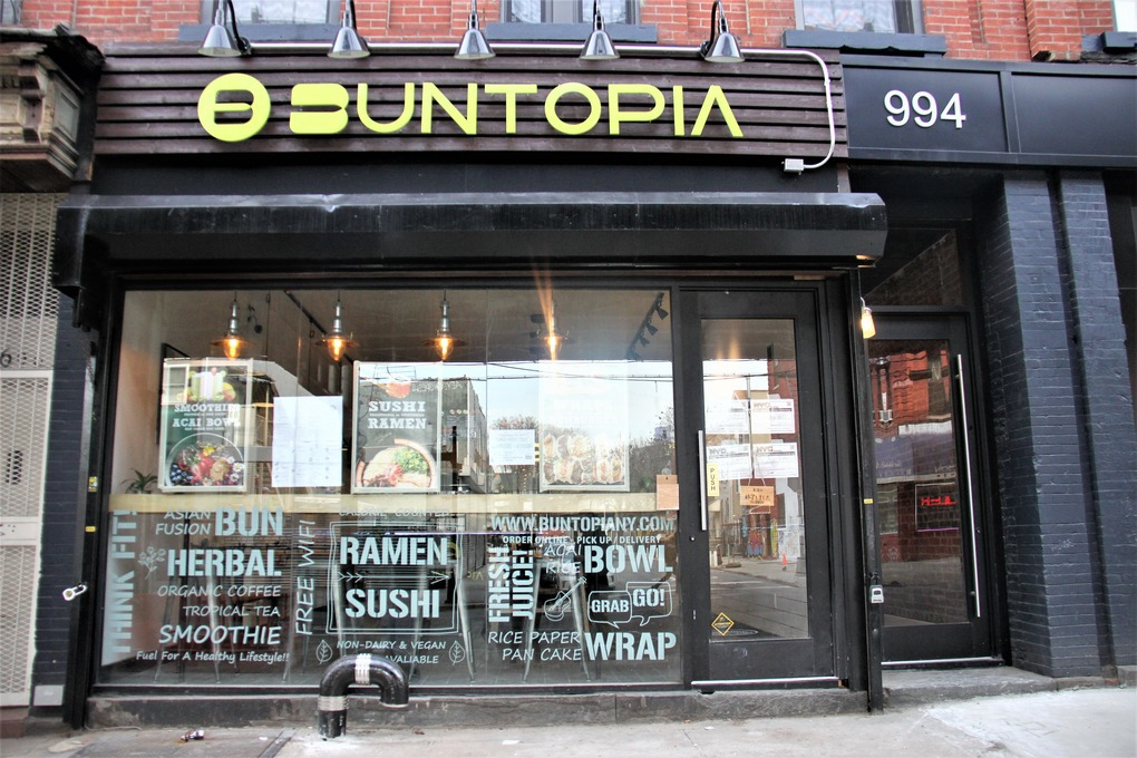 Healthy Asian-Fusion Cafe Buntopia Is Set to Open off Myrtle-Broadway — Restaurants on Bushwick Daily