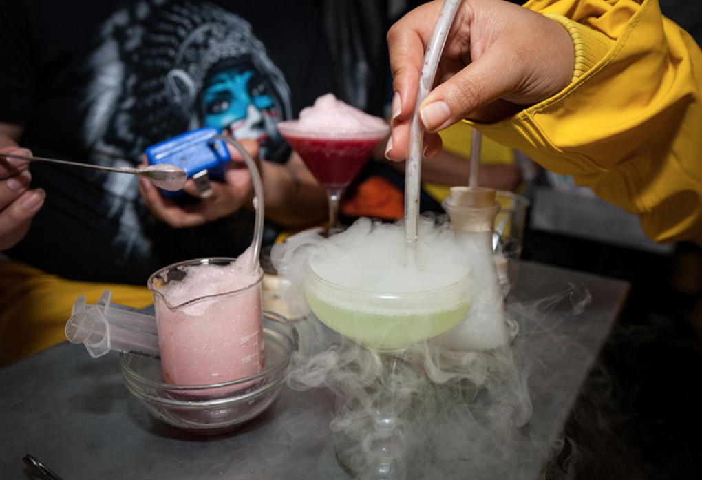 This Meth Lab-Themed Cocktail Class Is Unique and Kind of Stressful  — Bars on Bushwick Daily