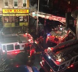 A Fire Between the Walls Partially Destroyed a Chinese Restaurant Last Night on Wilson Avenue — News on Bushwick Daily