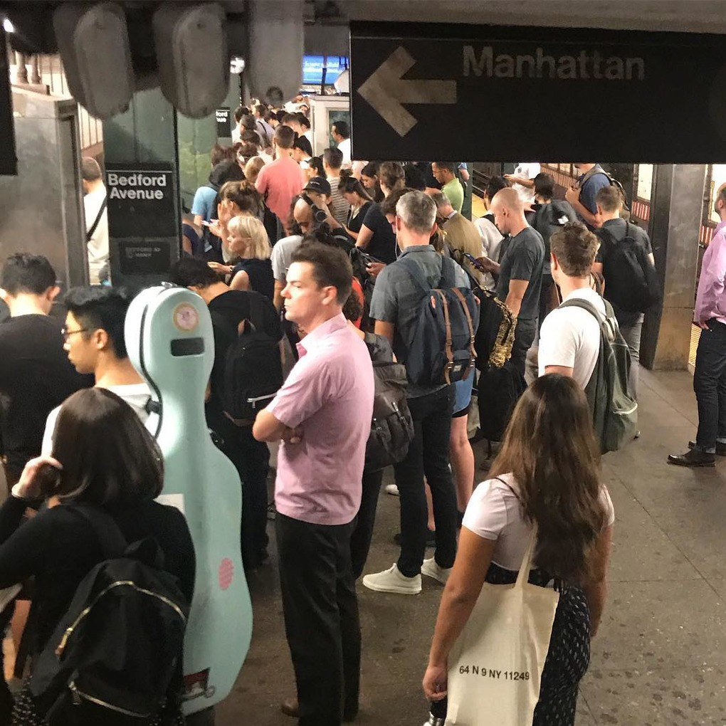 Scorcher: My First Day of the M Train's Summer of Hell — Wick Talk on Bushwick Daily