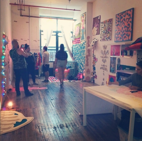 BOS 2016 Pro tip: Lisa & Nina's Excellent Studio Tour Adventures! — Arts & Culture on Bushwick Daily