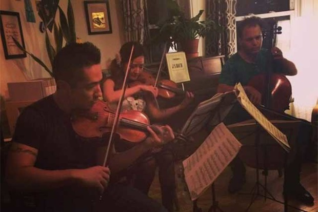 Groupmuse will bring a classical music house party to for Orchestral house music
