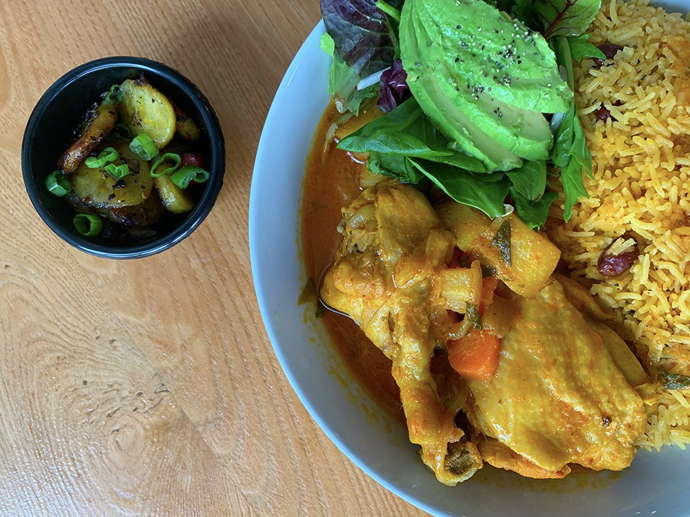 Abuela's Chicken and Rice: Afro-Latina Chef Is Cooking Up Her Childhood Suppers in Bushwick — Food and Drink on Bushwick Daily