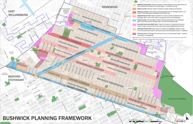Bushwick Rezoning Aims for   Industrial Job Growth and Affordable Housing, Locals Remain Skeptic  — News on Bushwick Daily