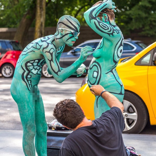 A Live Nude Public Body Painting Event Is Coming to Bushwick  — Arts & Culture on Bushwick Daily