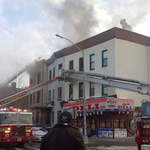 Update: Huge, 3-Alarm Fire on Evergreen Avenue in Bushwick Left 7 Families Homeless — News on Bushwick Daily