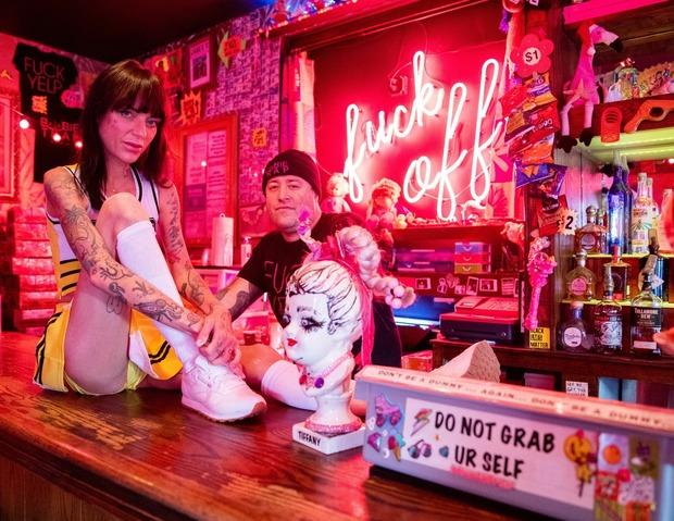 Bushwick Bartenders Dress Down For Pin Ups — Food and Drink on Bushwick Daily