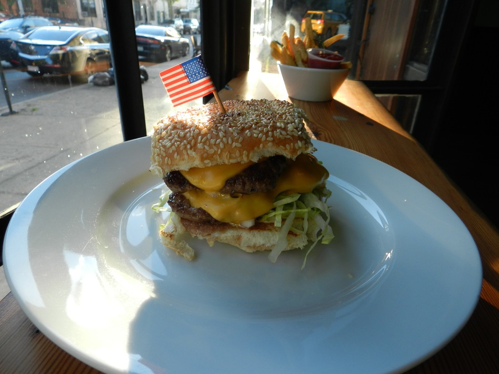 An Homage to McDonald's at Clara's Wins Best Neighborhood Burger — Food and Drink on Bushwick Daily