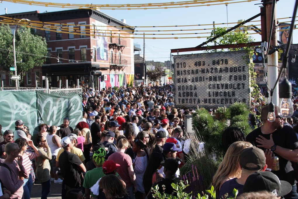 The Bushwick Collective Brought Art, Music, Fashion, and Food Together for an Epic Block Party — Arts & Culture on Bushwick Daily