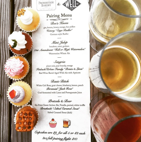 Boozy Cupcakes Paired with Craft Beer are on the Menu at the Well Tonight! — Restaurants on Bushwick Daily