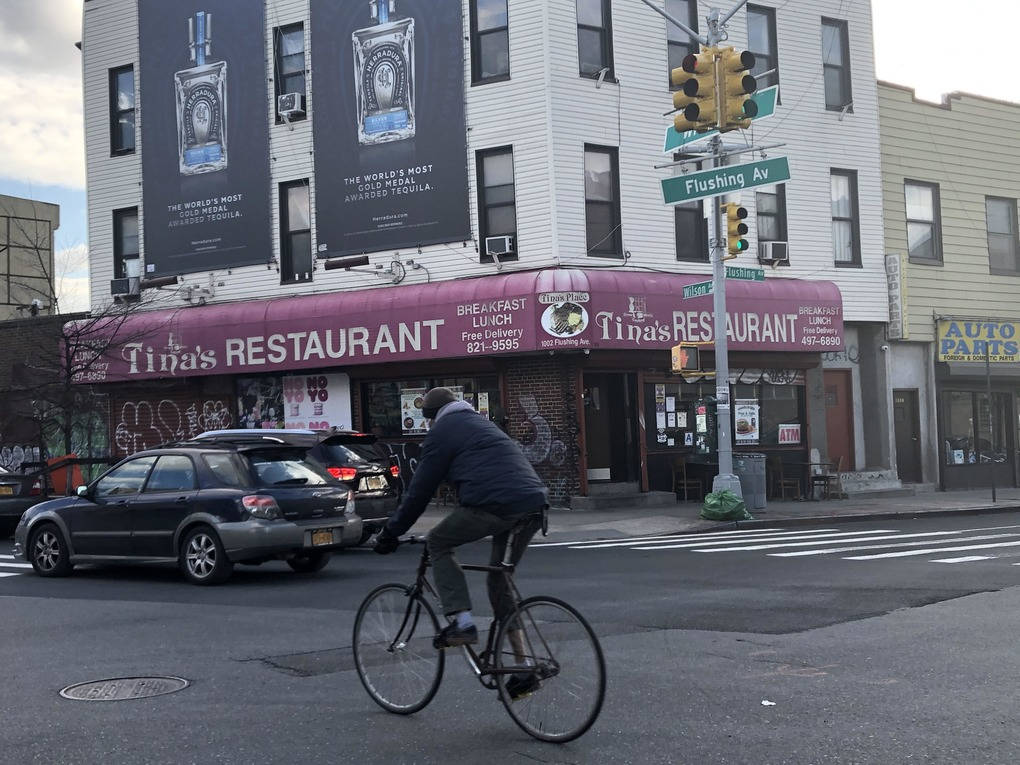 Off the Avenue: Tina's Finds Its Place in a Pandemic — Food and Drink on Bushwick Daily