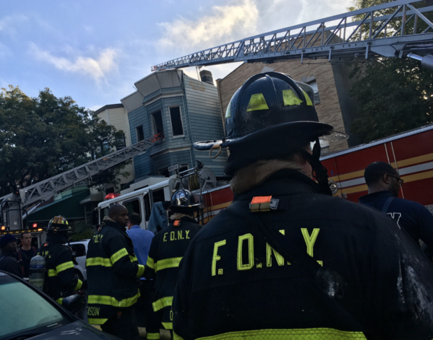 Squatters May Have Started the Fire That Engulfed a Halsey Street Home This Morning — News on Bushwick Daily